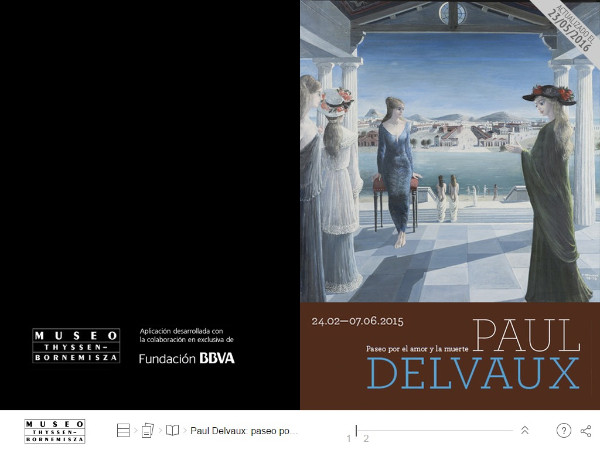 Revista digital Paul Delvaux