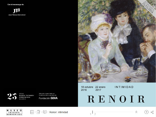 Revista digital Renoir intimidad