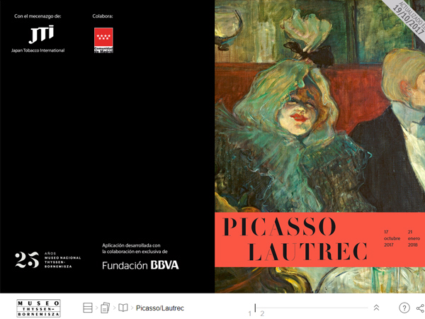Revista digital Picasso/Lautrec