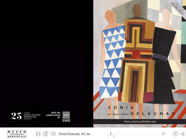 Digital magazine Sonia Delaunay. Art, design and fashion