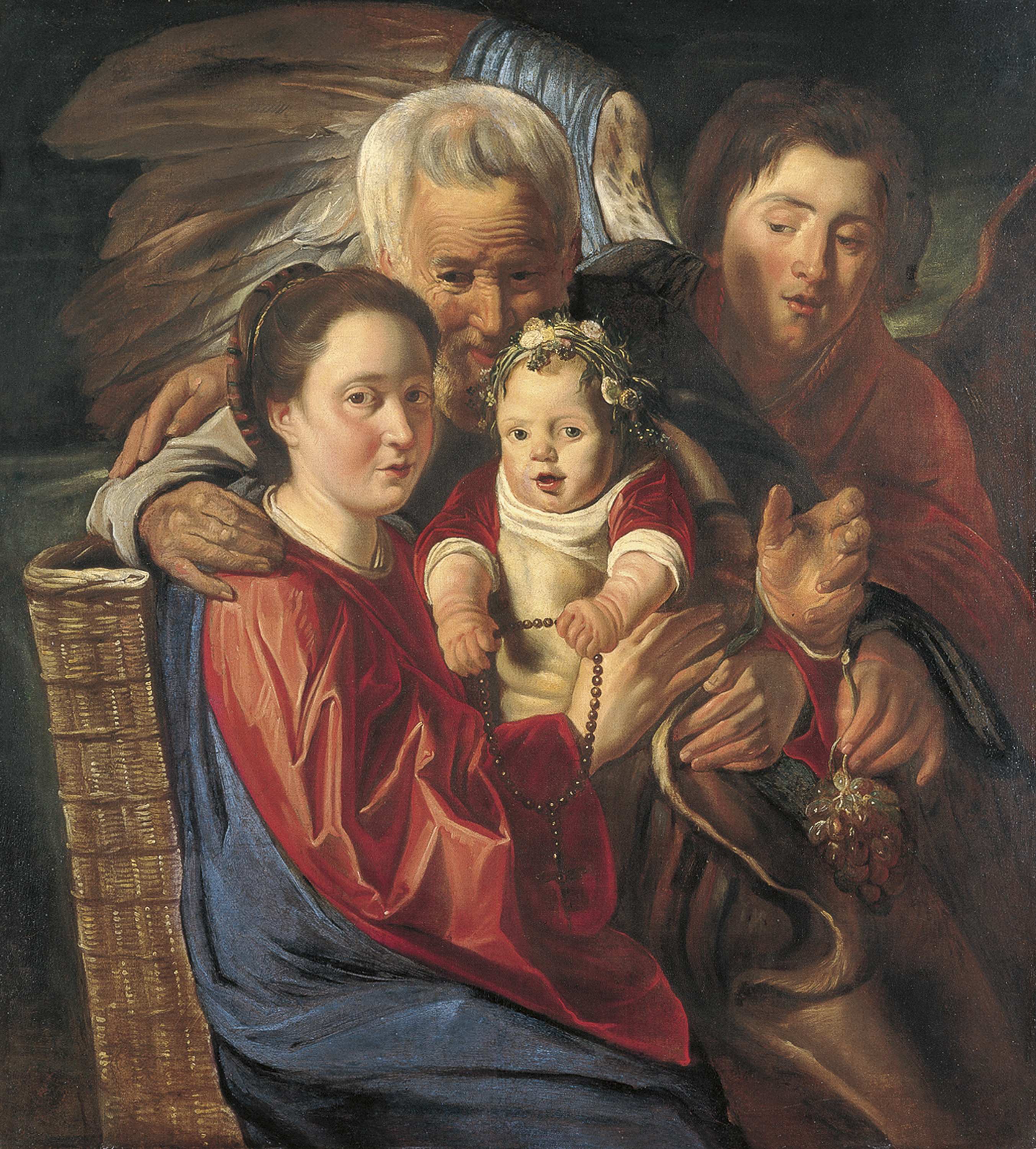 Jacob Jordaens: paintings with titles and descriptions 12