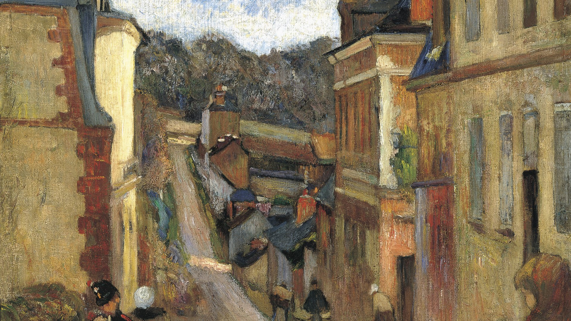 rue jouvenet in rouen gauguin paul museo nacional thyssen bornemisza. Black Bedroom Furniture Sets. Home Design Ideas