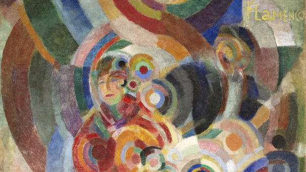 Instagram competition: win a guided tour of the exhibition Sonia Delaunay. Art, design and fashion