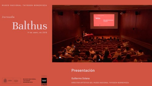 "Jornada de conferencias ""Balthus"""