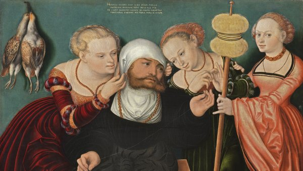 Hercules at the Court of Omphale by Hans Cranach. Restoration and technical study