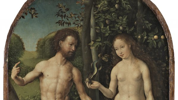 Adam and Eve. Adán y Eva, c. 1507-1508
