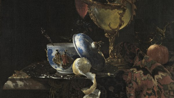 Willem Kalf. Original and Copy