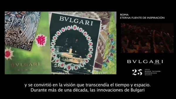 "Series of lectures Bulgari and Rome. ""A history of jewels, passion and innovation"""