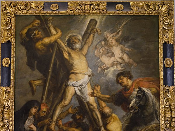 The Martyrdom of Saint Andrew by Rubens, Guest Work