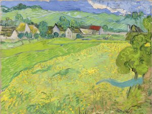 Les Vessenots in Auvers. Vincent van Gogh