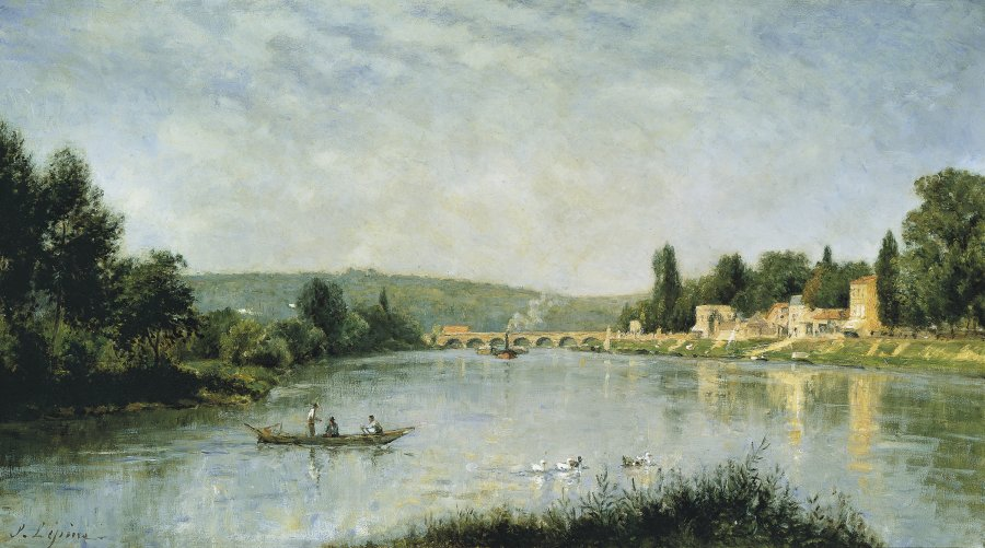 The Seine at the Pont de Sèvres
