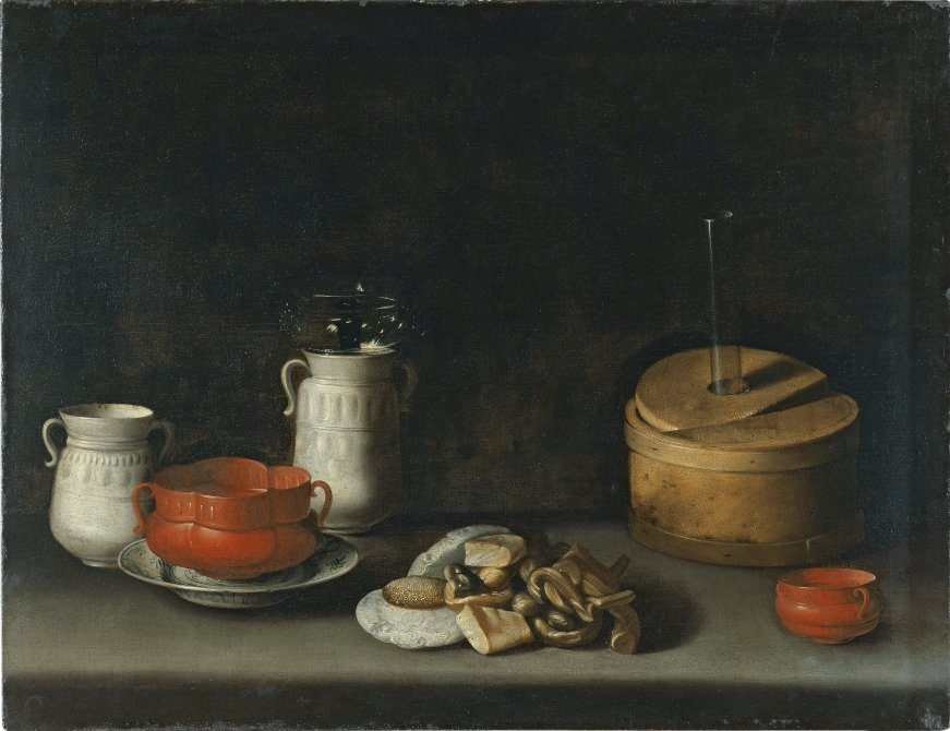 Still Life with Porcelain and Sweets