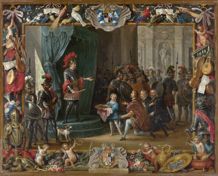 The Submission of the Sicilian Rebels to Antonio Moncada in 1411