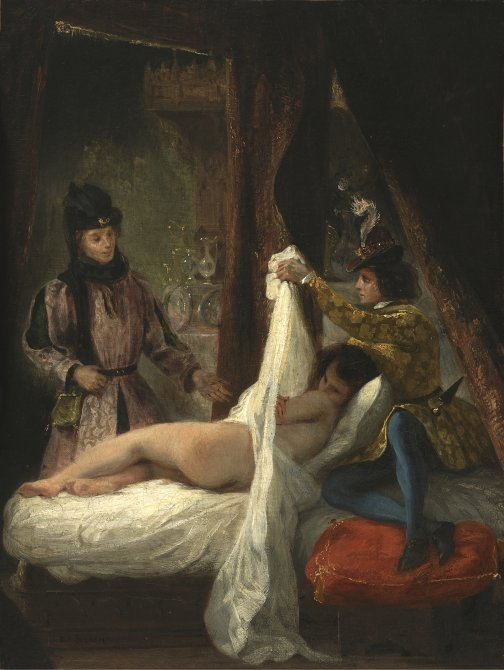 The Duke of Orleans showing his Lover