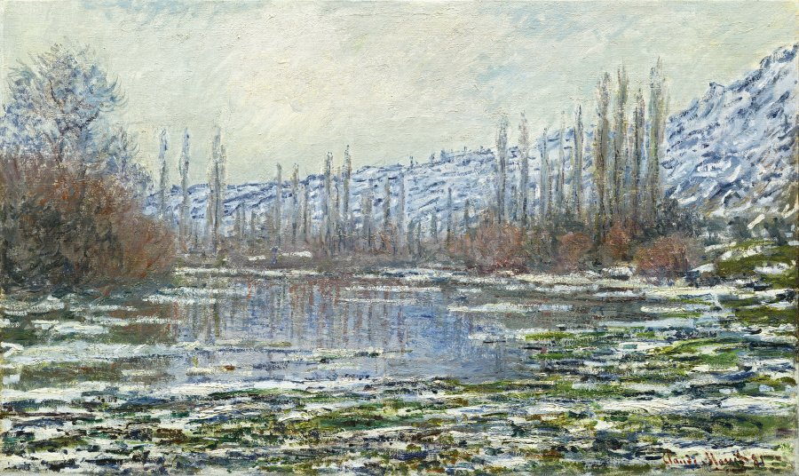 The Thaw at Vétheuil