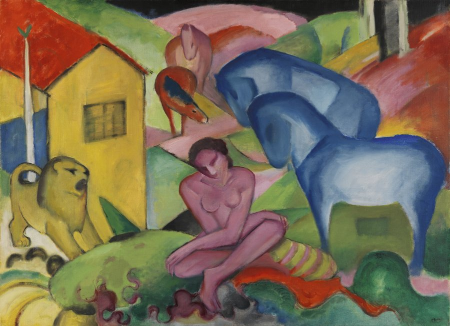 The Dream. El sueño, 1912