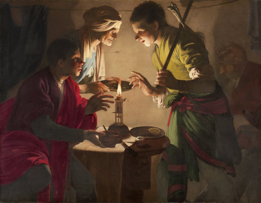 Esau selling His Birthright