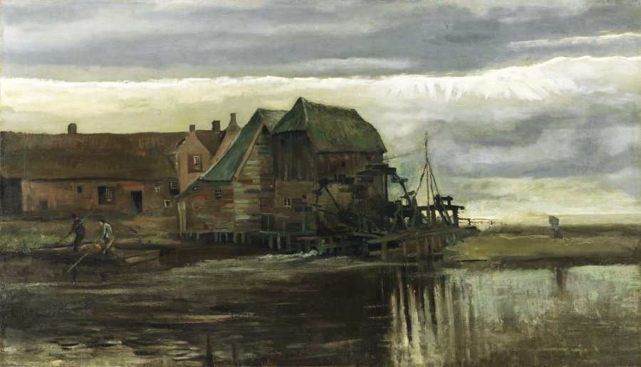 Watermill at Gennep