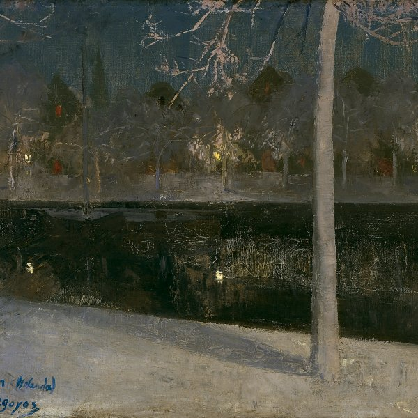 Landscape by Night (Haarlem)