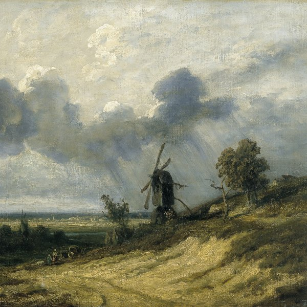 Landscape with Mill