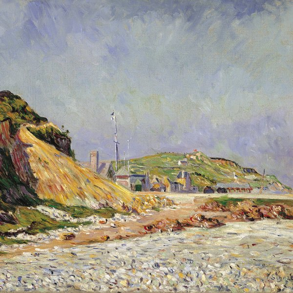 Port-en-Bessin, la playa