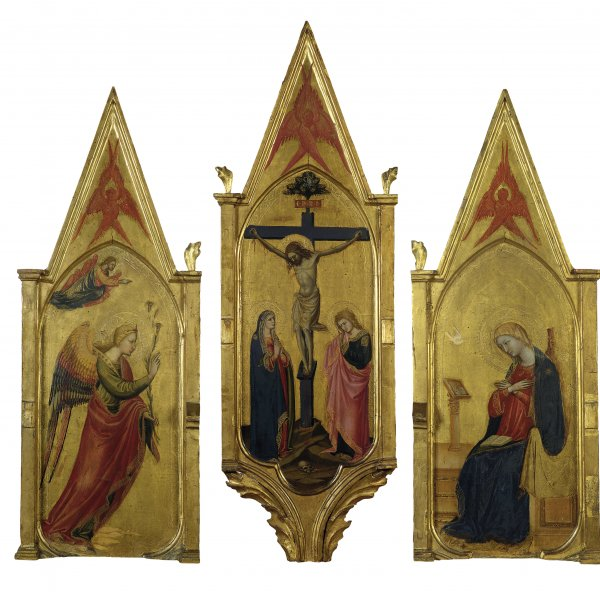 The Annunciate Angel. The Crucifixion with the Virgin and Saint John. The Annunciate Virgin