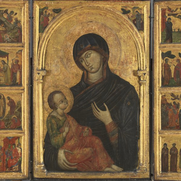 Triptych with the Virgin and Child