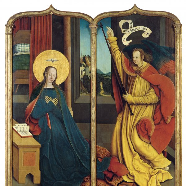 The Virgin of the Annunciation / The Angel of the Annunciation