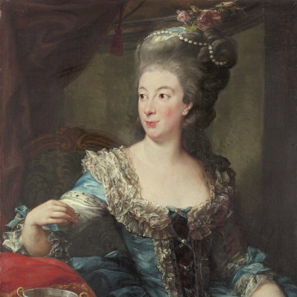 Portrait of the Countess Maria Benedetta di San Martino
