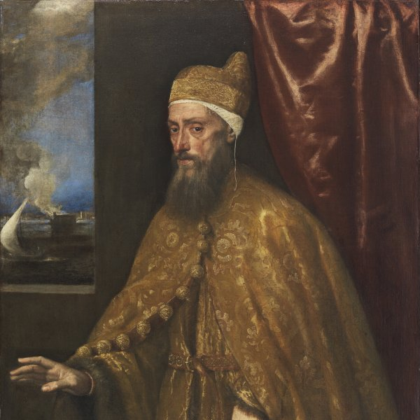 Portrait of Doge Francesco Venier