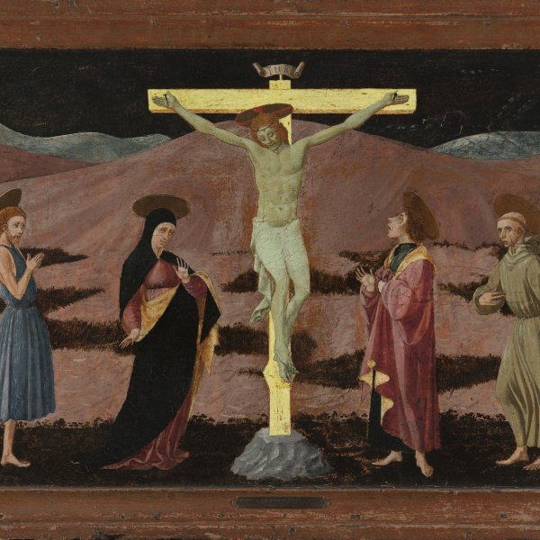 The Crucifixion with the Virgin, Saint John the Baptist, Saint John the Evangelist and Saint Francis