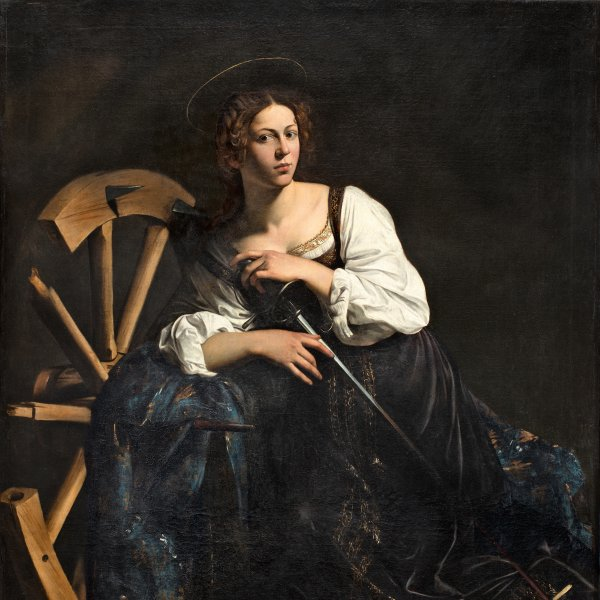 Restoration and technical study of Caravaggio's Saint Catherine of Alexandria