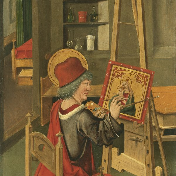 Saint Luke painting the Virgin