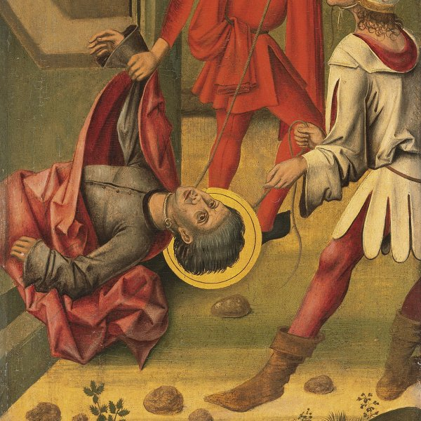 The Martyrdom of Saint Mark
