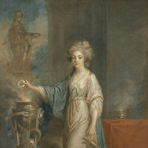 Portrait of a Lady as a Vestal Virgin