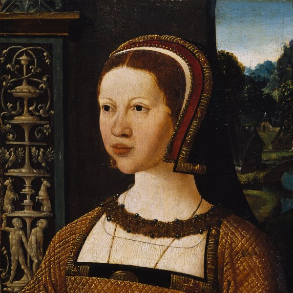 Portrait of a woman, possibly Elisabeth of Denmark