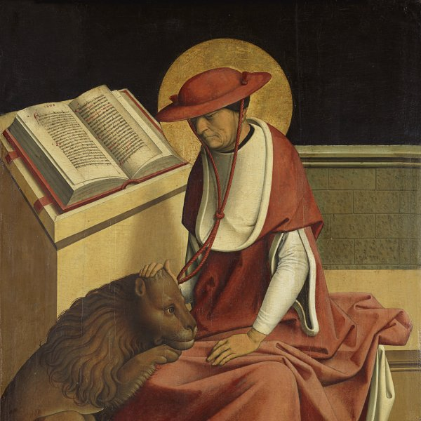 Saint Jerome as a Cardinal