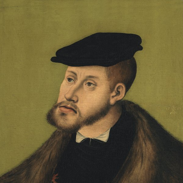 Portrait of the Emperor Charles V