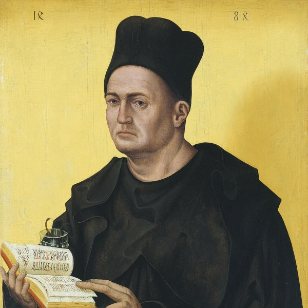 Portrait of a Benedictine Abbot