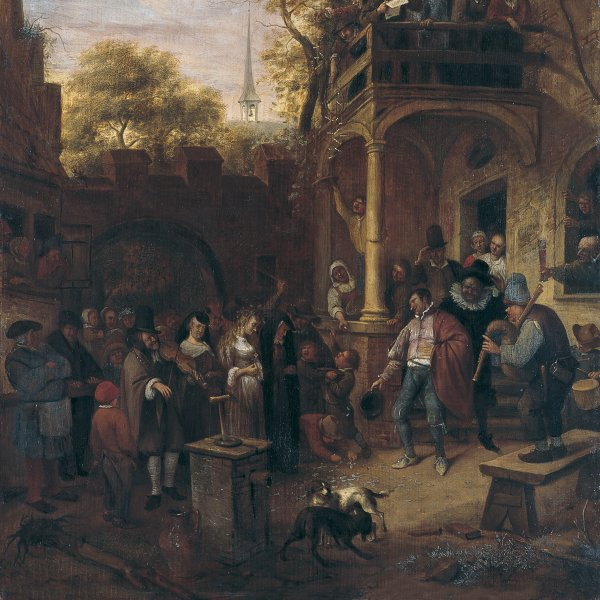 Jan Havicksz.  Steen (atribuido a)
