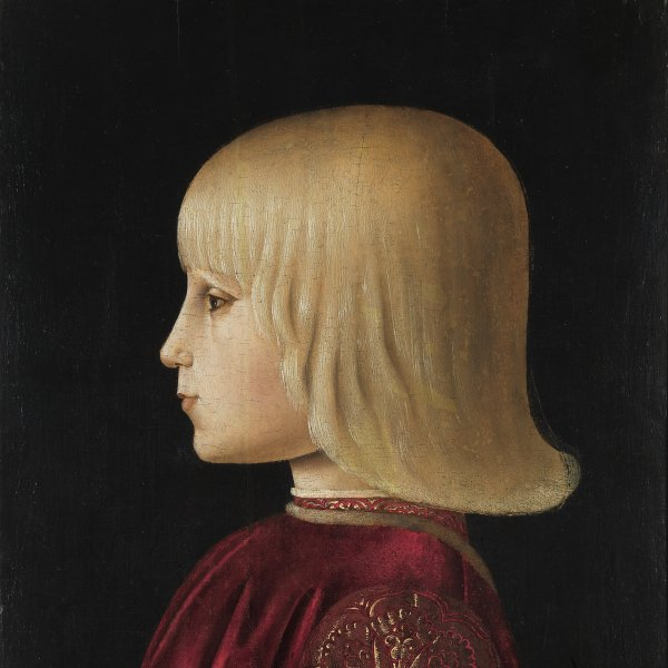 Portrait of a Boy. (Guidobaldo Da Montefeltro?)