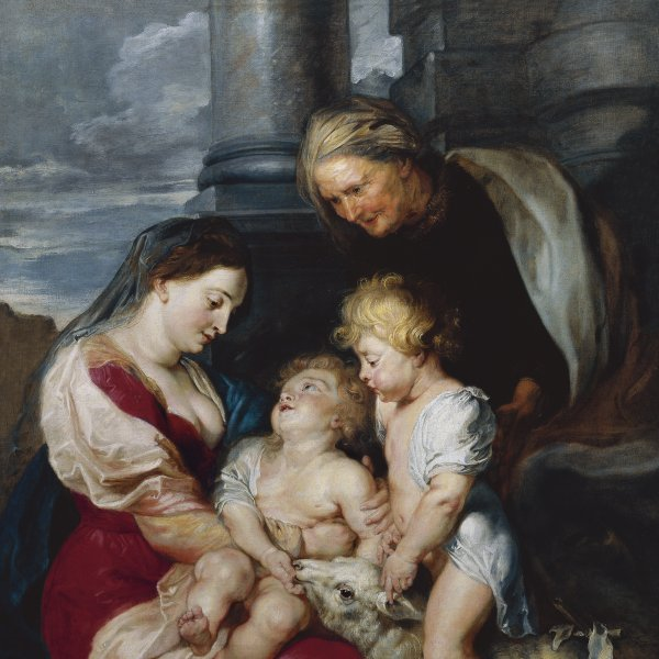 The Virgin and Child with Saint Elizabeth and Saint John the Baptist