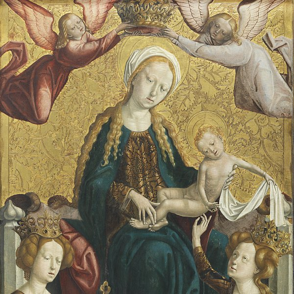 The Virgin and Child with Saint Margaret and Saint Catherine