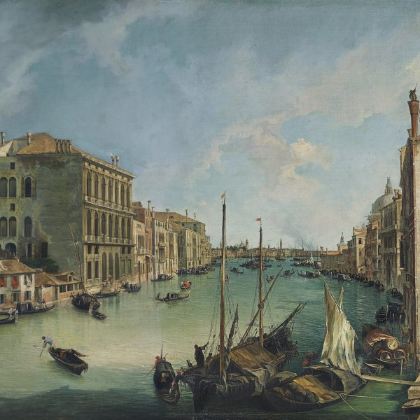 The Grand Canal from San Vio, Venice