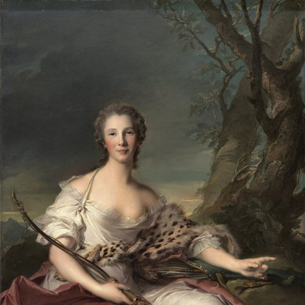 Portrait of Madame Bouret as Diana
