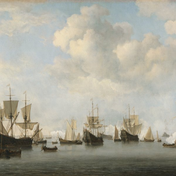 The Dutch Fleet in the Goeree Roads