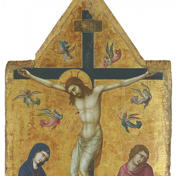 The Crucifixion with the Virgin, Saint John and Angels