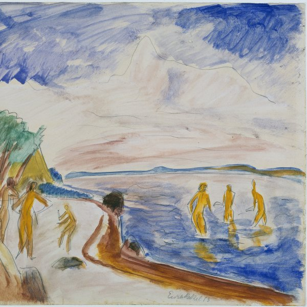 Bathers on the Beach