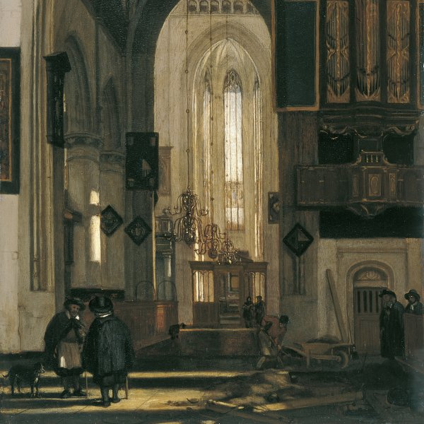 Interior of a Gotic Church