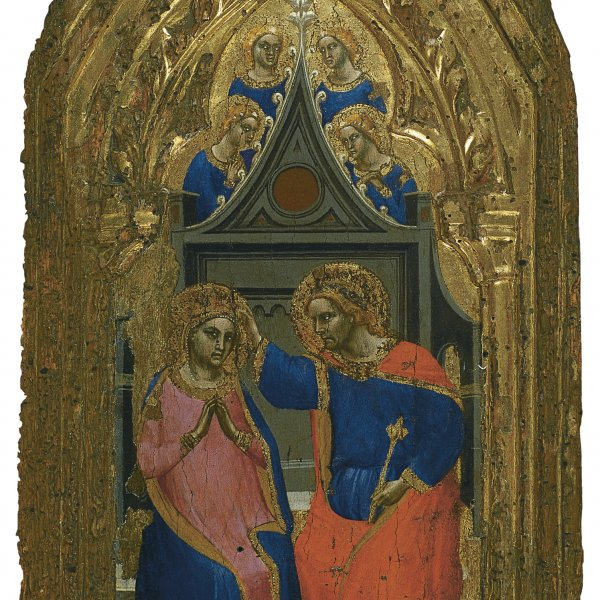 The Coronation of the Virgin with four Angels